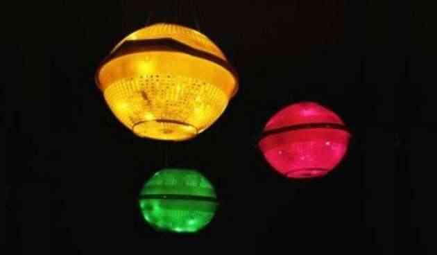 lamparas de coladores
