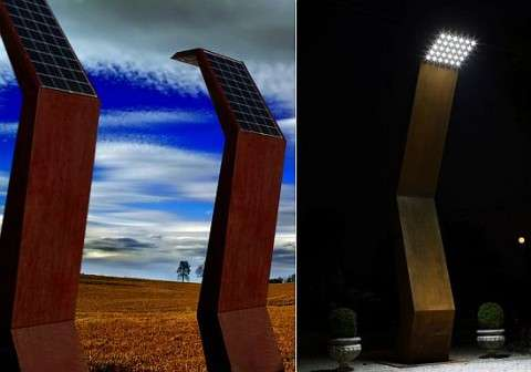 Luminarias de exterior soluciones con estilo for Luminarias para jardines exteriores