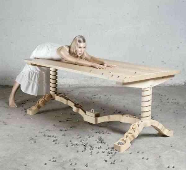 mesa de madera para grandes cenas