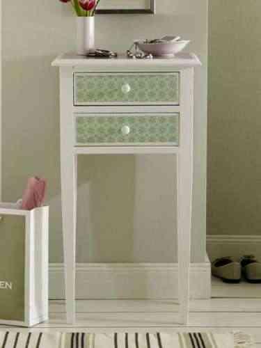 mueble decorado con decoupage