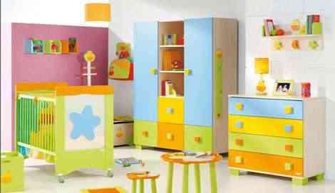 Muebles en la decoración infantil