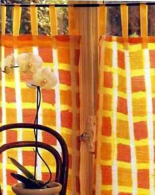 pintar una cortina