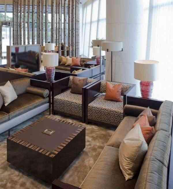 sala de estar del aeropuerto Biggin Hill