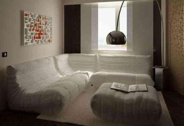 salon apartamento de lujo