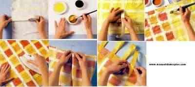 tutorial como pintar una cortina
