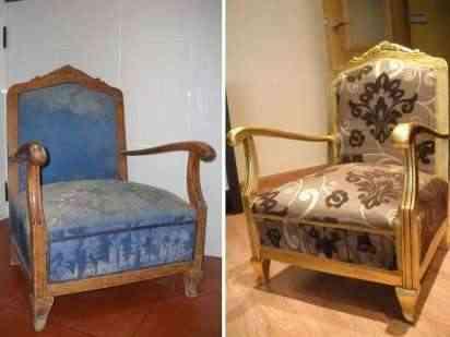 Tapiza tus asientos restaurar antiguos muebles - Como restaurar muebles viejos ...