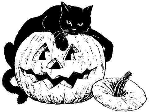 Te gusta Halloween? Calabazas para Colorear