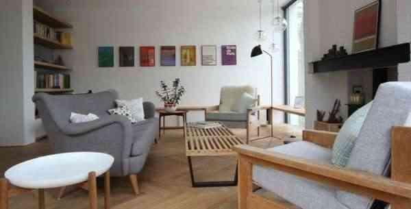 Corkellis House 03 750x381 Modern Residence With Scandinavian Design Influences: Corkellis House