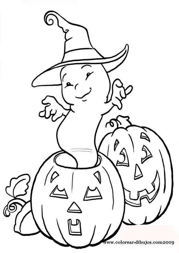 Te Gusta Halloween Calabazas Para Colorear