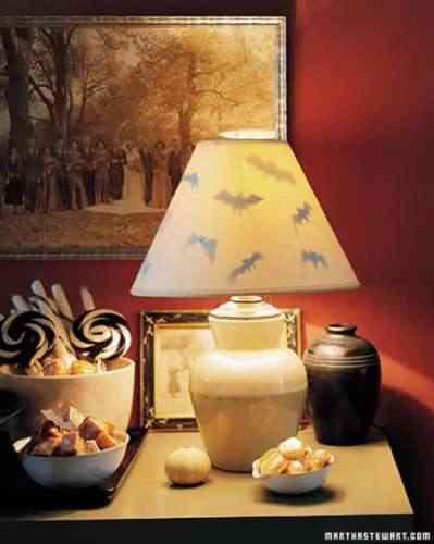 lámpara para Halloween