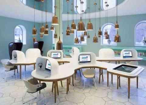 decoracion de cybercafe