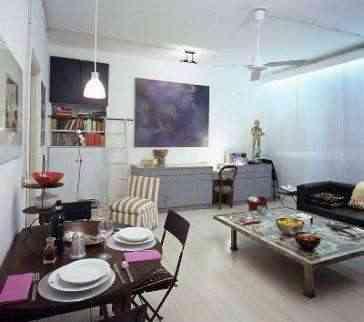Consejos para la decoraci n de salones peque os for Apartamentos pequenos bien decorados
