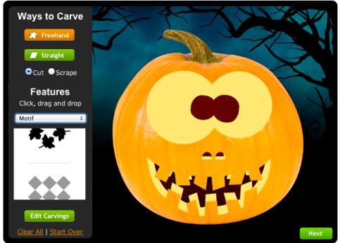 Decoraci n en halloween crea calabazas for Decoracion de calabazas para halloween