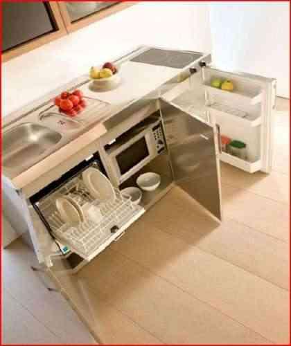 Muebles pequeos para cocina amazing muebles de cocina for Modelos de muebles de cocina para espacios pequenos