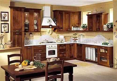 Decoracion Cocinas Rusticas Fotos | La Decoracion De Las Cocinas Rusticas