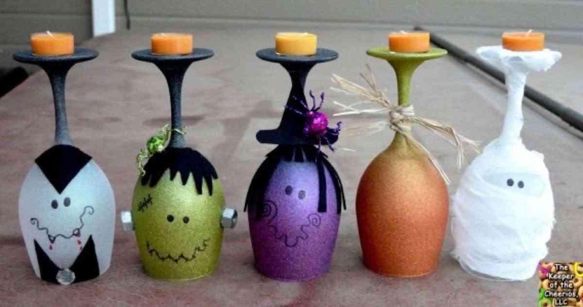 vasos para halloween