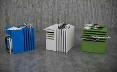 Cubos ideales para mantener ordenadas las habitaciones