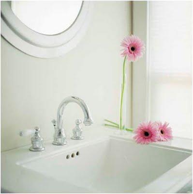 Gerberas para añadir un toque a tu baño