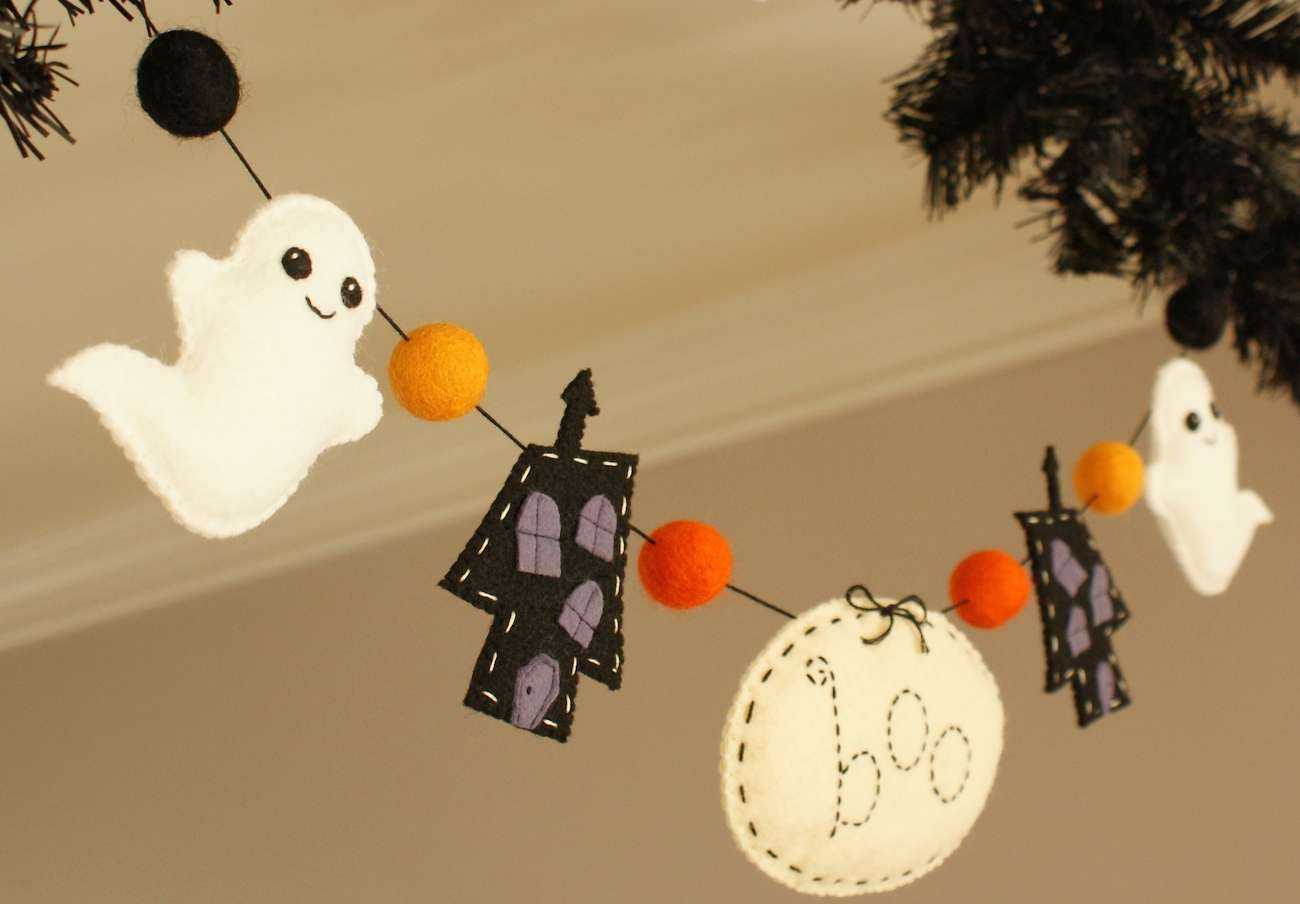 Divertida guirnalda para halloween - Decoracion de guirnaldas ...