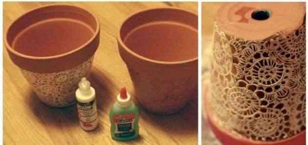 Decora tus viejas macetas - Como decorar macetas ...