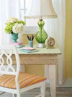 mesa tapizada