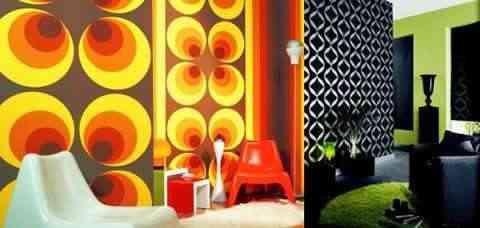 Decoracion Con Papeles Para Paredes - Papeles-de-decoracion-para-paredes