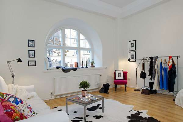 Estilo escandinavo apartamentos peque os for Decoracion vintage apartamentos pequenos