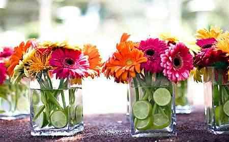 Centro De Mesa Pequeños Arreglos Florales