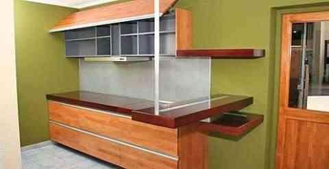 Un peque o espacio una gran cocina for Cocinas modernas espacios pequenos