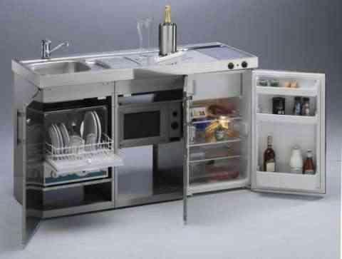 Un pequeño espacio, una gran cocina.