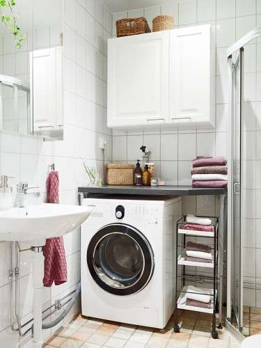 instalar nuestra lavadora en el ba o cuando no hay espacio