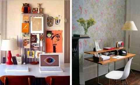 La oficina en casa como hacer tu espacio de trabajo mas for Como decorar una oficina pequena de trabajo