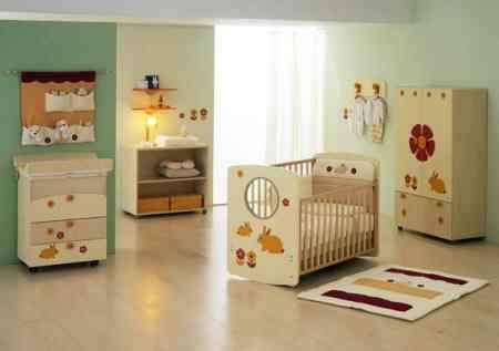 Decorando el Cuarto del Bebe