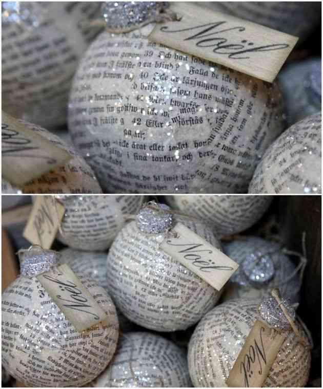 nos encanta reciclar y si a ti tambin te gusta te invitamos a decorar tu rbol navideo con estas magnficas bolas adems de colocarlas en el rbol