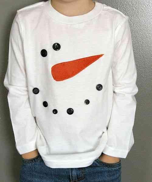 Como Decorar Una Camiseta De Navidad.Como Decorar Una Camiseta Como Motivos Navidenos