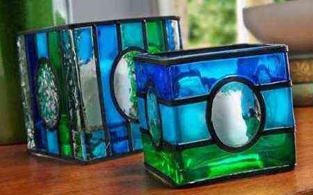 Candelabros de vidrio