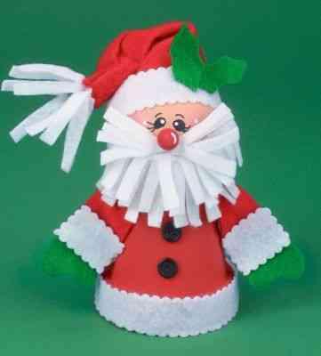 Navidad utiliza las macetas for Ideas para hacer cosas de navidad