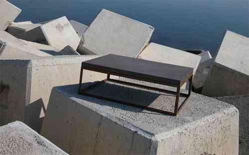 mesa de cemento