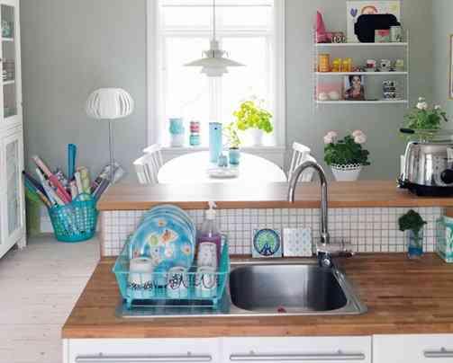 Muebles para cocina color blanco excellent otra opcin de - Objetos decoracion cocina ...