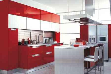 Decoración de cocinas con colores