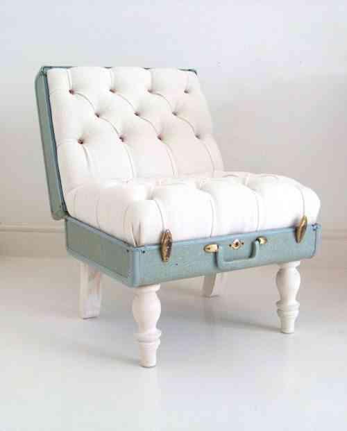 Maleta que es un sillón