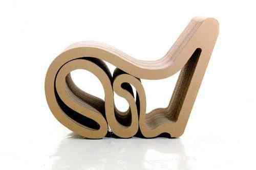 asiento de cartón
