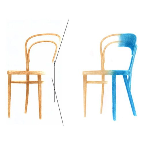silla famosa dibujo