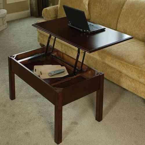 Mesas De Ordenador Para Salon.Una Mesa De Salon Para El Ordenador