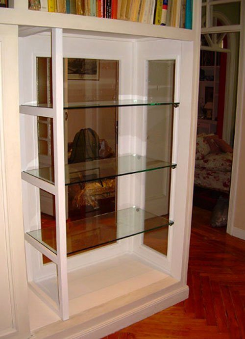 armario transformado en cristalera