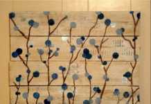 Pintura sobre madera para decorar