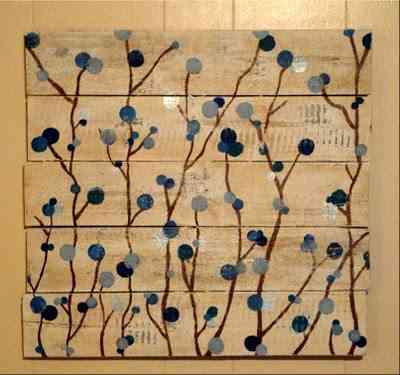 Pinturas sobre madera para decorar la casa - Pinturas de madera ...