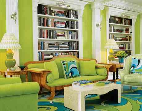 Color Verde En Tu Decoración