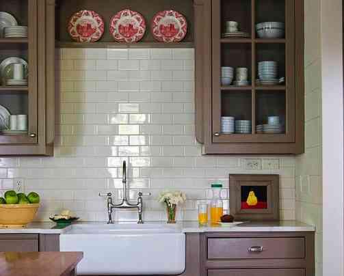 Color Pared Cocina. Perfect Color Paredes Muebles Blanco Ideas Para ...