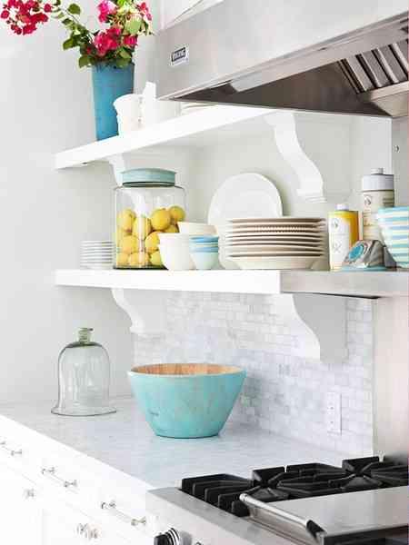 baldas en la cocina